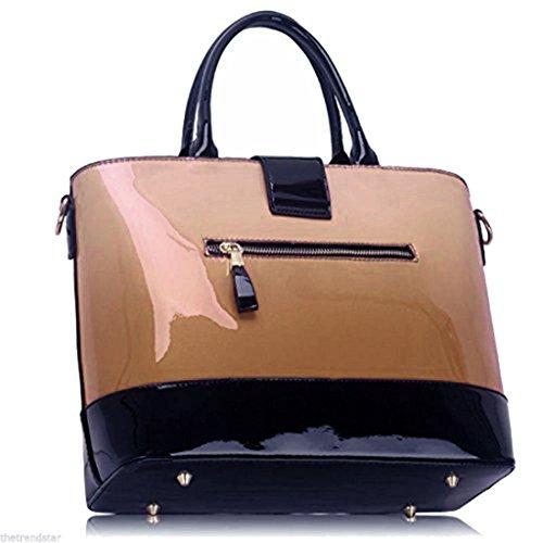 De Gorgeous Delivery 50 De Handbag Desnudo Tonos Gratuita Guardar 50 Uk Nude Dos Bolso tone Patente Patent Save Entrega Uk Two Precioso Free gzBgZrnYq