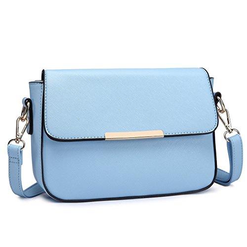 Handbags Lulu Body Blue Cross Miss for Bag Pu Women Leather Stylish Small Bag Shoulder 7d4qUAnx