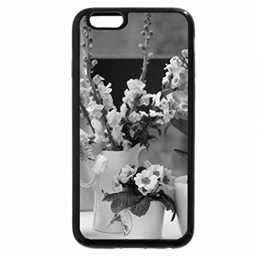 iPhone 6S Plus Case, iPhone 6 Plus Case (Black & White) - Shades of pink