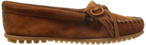 Kilty Womens Brown Suede Minnetonka Moc 7tOwx70dq