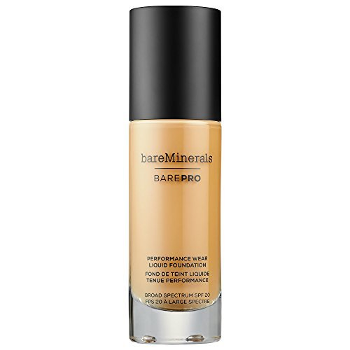 BareMinerals Barepro Performance Wear Liquid Foundation SPF 20 Light Natural 09, 1 Fluid Ounce