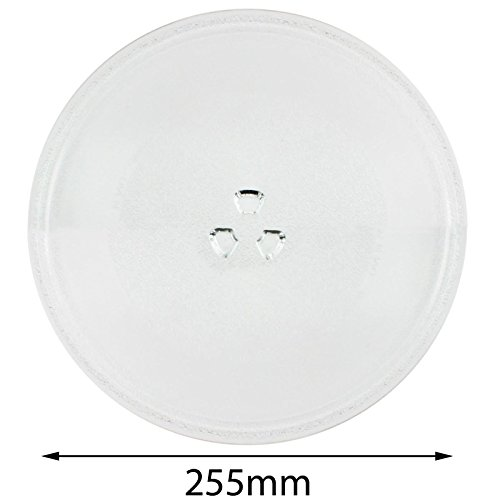 320mm Spares2go Large Glass Turntable Plate for Kenwood K25CS14 K25MSS11 K28CW14 K30GSS13 K30CSS14 Microwave Oven