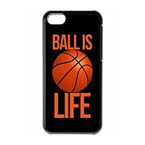 TYH - Run horse store - Just for You, Ball is Life picture for black plastic ipod Touch4 case ending phone case