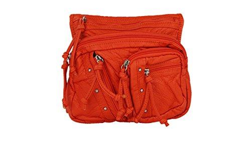 MKF by Mia Shoulder K Farrow Orange Bag Collection Crossbody Travelocity rqwYx0tr7X