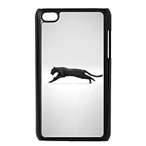 iPod Touch 4 Case Black ae39 running puma illust art minimal LSO7956806