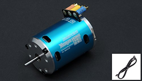 HobbyWing XERUN 13.5T 3650-2700KV Sensored Brushless Motor for 1/10 & 1/12 RC Cars ROAR Approved (Magnet Rc Exceed)