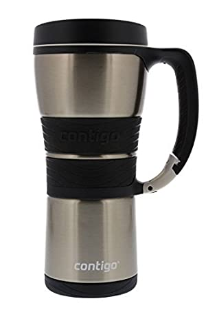 b9ce2509faa Image Unavailable. Image not available for. Colour  Contigo Extreme  Stainless Steel Travel Mug with Handle ...