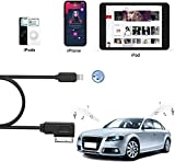 Car Audio Charging Adapter Cord Compatible with