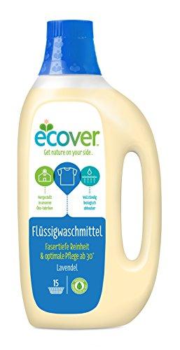 Flüssigwaschmittel - Ecover, 3er Pack (3 x 1.5 l)
