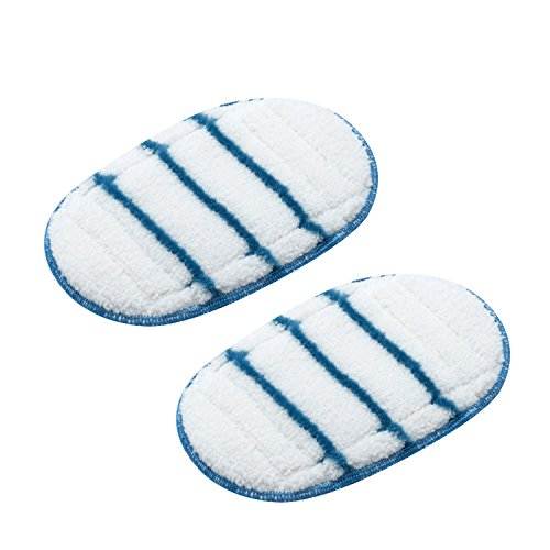 BLACK+DECKER FSHSMPA-XJ 2 Replacement SteaMitt Pads (Black & Decker Steam Mop Replacement Pads)