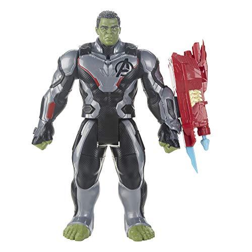 Brinquedo Boneco Titan Hero Marvel Deluxe 2.0 Hulk - Figura de 30 centímetros - E3304 - Hasbro