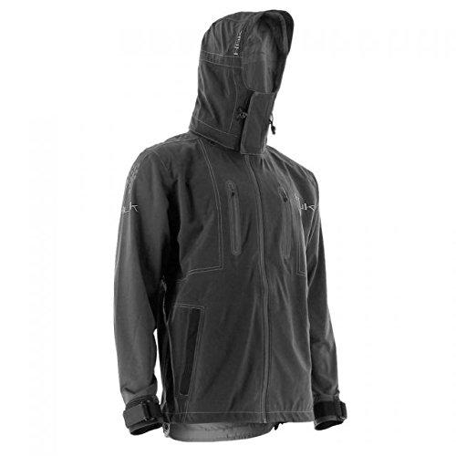 HUK H4000005-001-L Huk Nxtlvl All Weather Jacket, Black, Large