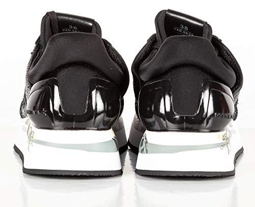 Premiata 3629 Modello argento Scarpa Sneakers Liz Donna Nero rqr1v