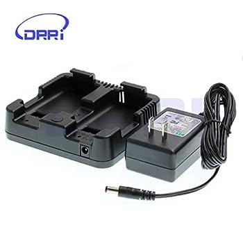 Image of Camcorder Batteries DRRI Dual Charger for Nikon NIVO 2M/2C Series DPL-322 Total Station Nivo C/M