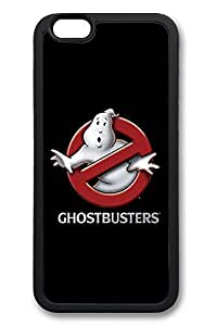 6 Plus Case, iPhone 6 Plus Case Ghostbusters Movie Logo Creativity TPU Silicone Gel Back Cover Skin Soft Bumper Case Cover for Apple iPhone 6 Plus