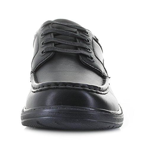 Walk UK Leather Clarks Keeler EU 42 8 G Black 5nxBxw