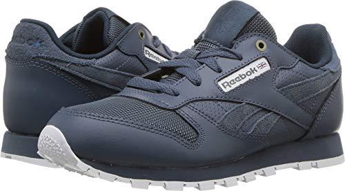 (Reebok Unisex Classic Leather Sneaker, mc-deep sea/Multi Fuji/White, 11.5 M US Little)