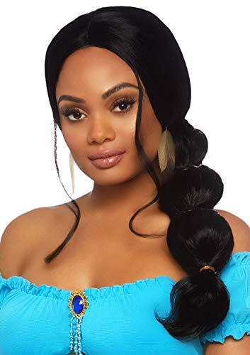 Leg Avenue Women's Desert Princess Wig, Black, O/S -
