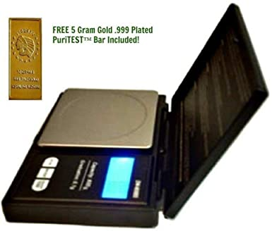 Digital JEWELERS SCALE 100 x 0.01g Weighs Gold Silver Diamond Gemstone Jewelry Free Puritest 5g Testing Stone