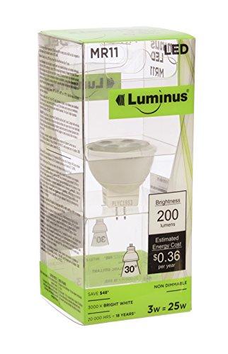 Luminus PLYC1953 MR11 3W 200 lm 3000K Non-Dimmable LED Li...