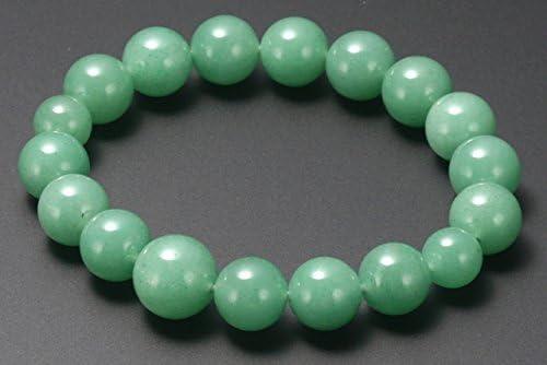 数珠ブレスレット パワーストーンブレスレット 翡翠 12ミリ玉 天然石 インドヒスイ