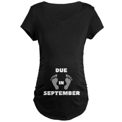 CafePress September Maternity T Shirt Pregnancy