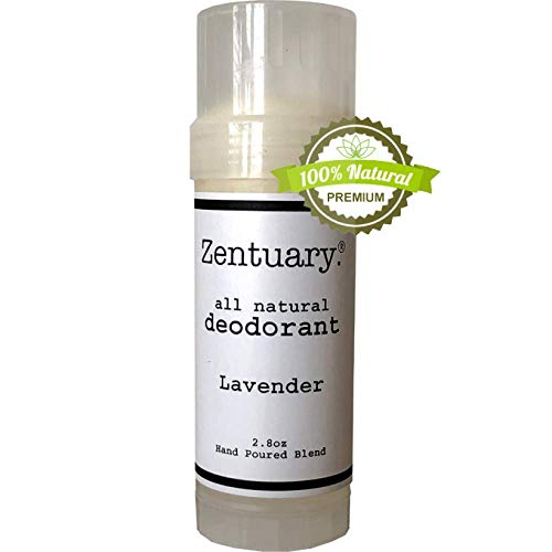 Zentuary Aluminum-Free Natural Deodorant (Lavender) It Works