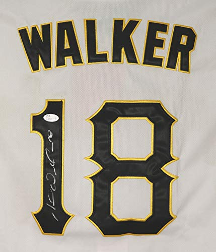 Neil Walker Pittsburgh Pirates Signed Autographed White #18 Jersey JSA COA