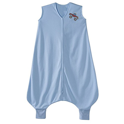 Early Sleepsack Walker (HALO Big Kids SleepSack Lightweight Knit Wearable Blanket, Blue, 2-3T)