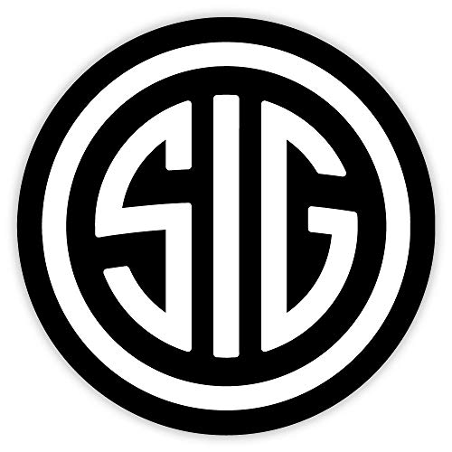 SIG black sticker decal 4
