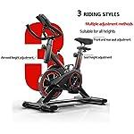 Dvuboo-Cyclette-da-Casa-Spinning-Bike-Professionale-per-Casa-Bici-da-Spinbike-Cyclette-Fitness-Palestra-Workout-Regolazione-del-Sellino-Manubrio-Ottimo-per-Un-Allenamento-di-Tipo-CasalingoRosso