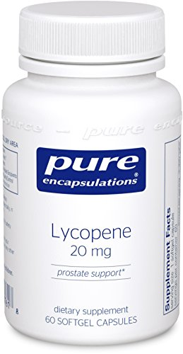 Pure Encapsulations - Lycopene 20 mg - Dietary Supplement for Prostate, Cellular and Macular Support* - 60 Softgel Capsules by Pure Encapsulations