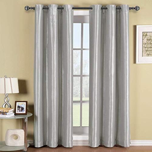 Royal Hotel Soho Silver Grommet Blackout Window Curtain