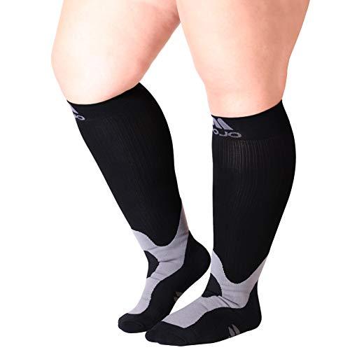 Mojo Coolmax Recovery & Performance Sports 20-30 mmHg Compression Socks – Triathlete Compression Socks – Unisex