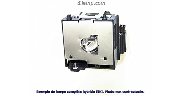 Replacement Lamp with Housing for EIKI LC-X85 with Ushio Bulb Inside