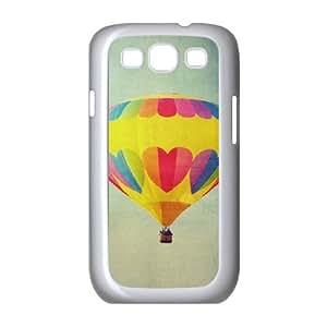 Samsung Galaxy S3 I9300 Fire Balloon Phone Back Case DIY Art Print Design Hard Shell Protection FG078832