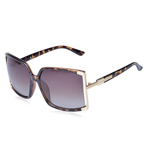 W-Q 2016 New Womens Trendy Personality Oversize Square UV Protection - Sunglasses Tacchini