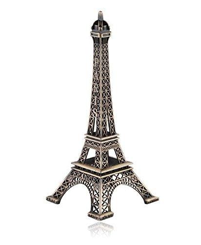 Métal Paris Tour Eiffel modèle souvenir Décoration Décoration de la Maison–22cm Zeuxs