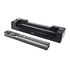 Easily scan your files for enhanced organization with this PDSDK-ST470-VP Vupoint Solutions Magic Wand Portable Scanner. It has a lithium-ion polymer battery and it works with plain paper. The optical resolution is 1200 dpi and it can scan in...