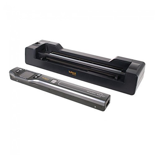 gic Wand Portable Scanner with Color LCD Display and Auto-Feed Dock (PDSDK-ST470-VP) ()