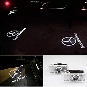 Amazon Com Pair Led Door Step Courtesy Light Laser Shadow