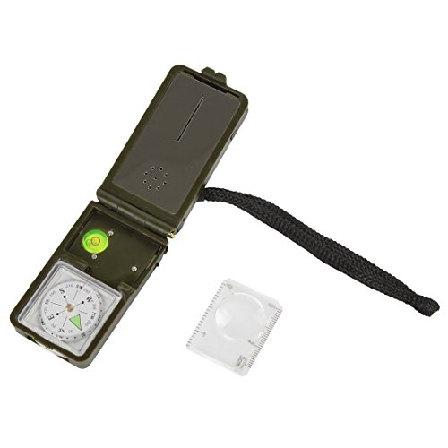 HAIN@ 10 in 1 Multifunctional Outdoor Survival Military Camping Hiking Compass Tool Kit