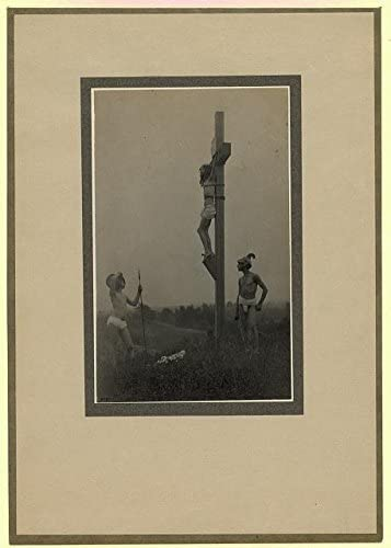 INFINITE PHOTOGRAPHS Photo: Crucifixion, Jesus Christ, Roman Soldiers, Religion, 1898, Fred Holland Day Size: 8x10 (app