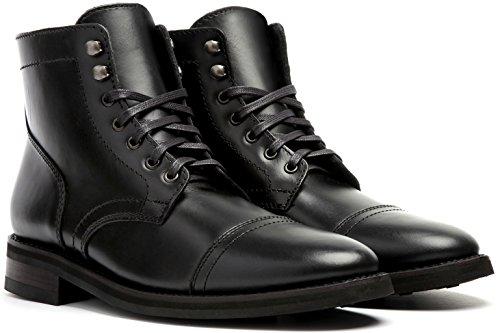 Bota De Cordones Captain Hombres De La Empresa De Arranque Thursday Bota Black