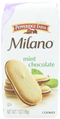 Pepperidge Farm Mint Milano Cookies, 7-ounce (pack of 4) (Pepperidge Farm Mint Cookies)