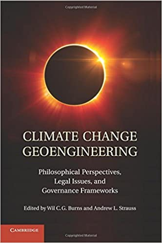 Book Climate Change Geoengineering by Wil C. G. Burns (2015-07-02)