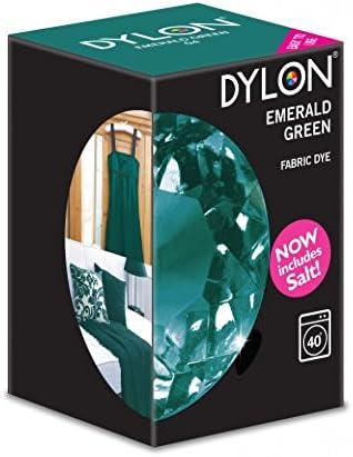 Tinte para máquina de ropa con sal Dylon, color verde agua