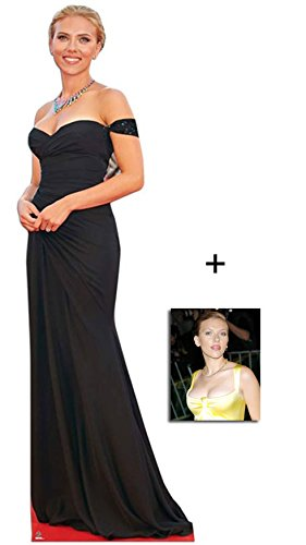 Fan Pack - Scarlett Johansson Lifesize Cardboard Cutout / Standee / Standup - Includes 8x10 (20x25cm) Photo BundleZ-4-FanZ Fan Packs