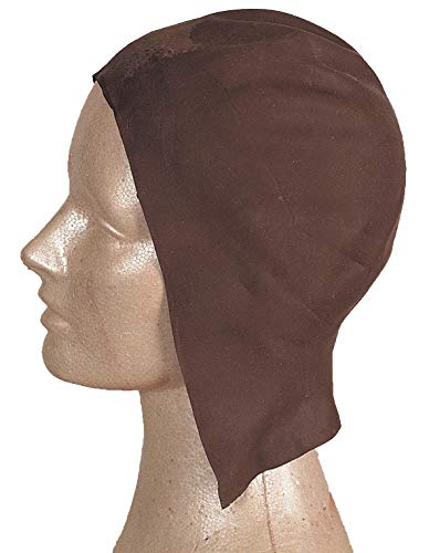 Latex Dark Bald Cap -