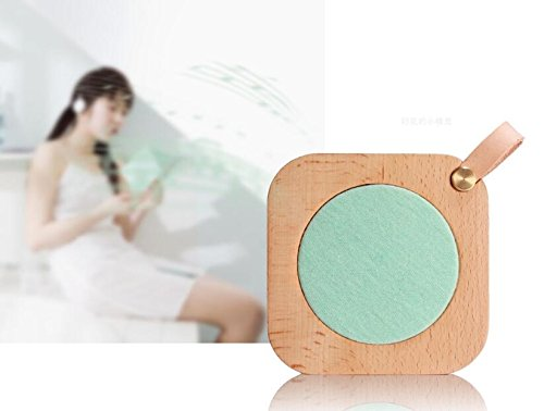 Aiweasi Simple Wooden Music Box For College Graduation Souvenir With Music of Castle in the Sky-Sky Blue by Aiweasi (Image #3)